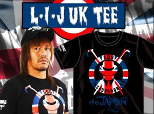 Official NJPW/New Japan Pro Wrestling Los Ingobernables de Japon/LIJ Union Jack