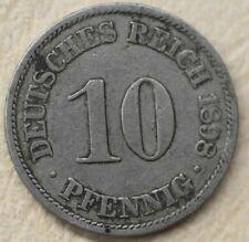 # Kaiserreich 10 Pfennig 1898 A.......od 4,99 zl #