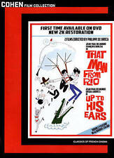 That Man from Rio/Up to His Ears (DVD, 2015, 2-Disc Set)**RARE***FREE SHIPPING**