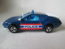 Majorette Blue Renault Alpine A 310 Police Car #264 France 1/55 (Mint)