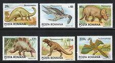Romania 1993 MNH Mi 4911-4916 Sc 3845-3850 Dinosaurs