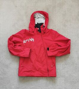 QUIKSILVER Roxy Womens Ski Snowboard Jacket Red Size Large Padded VgC