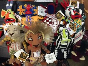 Asst Disney Store Beanies NWT FREE SHIPPING Lion King Disneyland Movies TV Stage