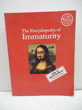 Encyclopedia Of Immaturity Book KLUTZ Complete Guide To Never Growing Up