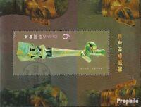 Volksrepublik China Block185 (kompl.Ausg.) gestempelt 2012 Bronzegegenstände