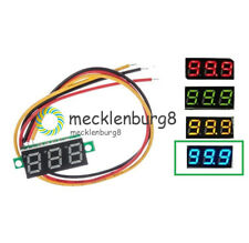 """0.28"""" LED DC 0-100V 3 Wires Digital Voltmeter Display Voltage Panel Meter"""