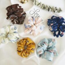 Summer Floral Hair Scrunchies Bun Ring Elastic Fashion Sport Dance Scrunchie AU