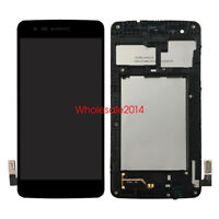 LCD Display Touch Screen+Frame For LG Aristo MS210 MS210N LGMS210 MetroPCS Black