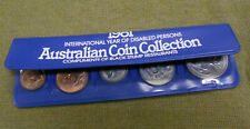 #D112.   1981 AUSTRALIAN DECIMAL COINS IN BLACK STUMP RESTAURANTS VINYL FOLDER