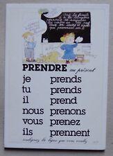 FA278BP) CP CONJUGAISON Monique Touvay - prendre au présent - 1988