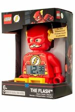 LEGO® DC The Flash Minifigure Voice Alarm Clock