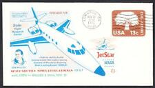 JETSTAR SPACE SHUTTLE MSBLS LANDING SYSTEM TEST FLIGHT 11-22-1976 Space Cover