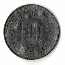 10 Pfennig o.J. Neustadt a.Donau Notgeld Zink Funck 373,1a - (not1n081)