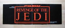 REVENGE OF THE JEDI 1982 Original promotional poster Lucasfilm Star Wars Return