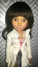 "Custom BFC Ink ""Aleisha"" 18"" African American/Latina/Hispanic/Biracial Doll"