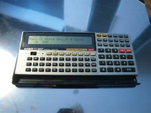 OFERTON!! INCREIBLE CASIO FX-880P FX880P 32Kb CALCULATOR VINTAGE INGENIERIAS