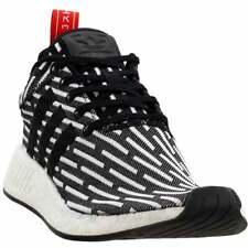Adidas NMD_R2 Primeknit Tenis Casuales-Negro-Para Hombre