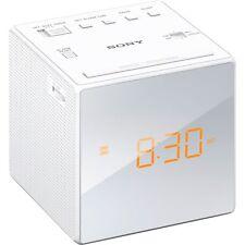 Sony Icf-c1 Radiowecker Radio Am / Fm- weiß