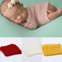 Newborn Baby Boys&Girls Stretch Wrap Photography Photo Prop Blanket Rug Sweet