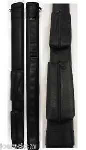 NEW Lucasi LC11A 1x1 Pool Cue Case - Two Accessory Pouches - New Item