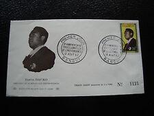 REPUBLIQUE CENTRAFRICAINE - enveloppe 1er jour 13/8/1962 (cy29)