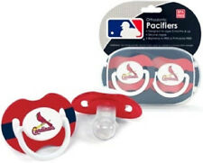 St. Louis Cardinals Baby Pacifiers 2 Pack [NEW] MLB Infant Newborn Binky CDG