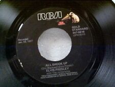 """ELVIS PRESLEY """"ALL SHOOK UP / THAT'S WHEN YOUR HEARTACHES BEGIN""""  45"""