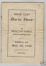 1940 Briar Cliff Stables Horse Show Niagara Falls NY