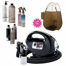 Fascination Spray Tanning Machine with Norvell Sunless Pro Pack and Bronze Tent