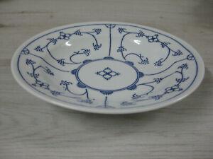 Kahla Blau Saks Untertasse Unterteller Teller Porzellan Blau Saks 13,5 cm