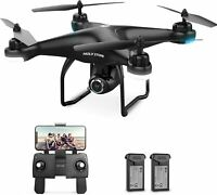 Holy Stone HS120D RC GPS Drone with 1080P HD Camera FPV Quadcopter 2 Batteries