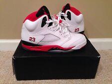 Air Jordan 5 Fire Red Black Tongue Size 11.5 136027 120