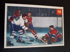 1954 Parkhurst Hockey Plante - Sloan - Harvey #98