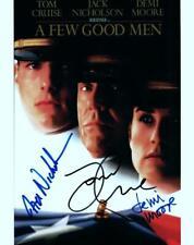 Tom Cruise Demi Moore Jack Nicholson signed 8x10 Photo Picture autographed COA