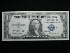 1935 F One Dollar * STAR NOTE * BLUE SEAL * Silver Certificate