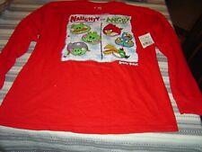 Brand New. Angry Birds Boys T Shirt  Size 18 (XXL/2XG