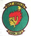 USMC Original vintage Squadron patch  HMM-362 UGLY ANGELS VIETNAM ERA