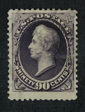 CKStamps: US Stamps Collection Scott#218 90c Perry Used Tiny Thin CV$250