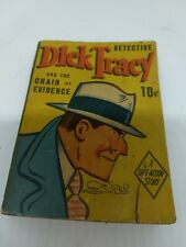 Detective Dick Tracy And The Chain Of Evidence