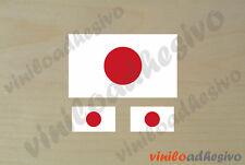 PEGATINA STICKER VINILO Bandera Japon Japan flag autocollant aufkleber adesivi