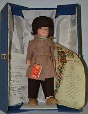 "Lenci, Felt Doll, Liviana, 20"", Original Box, Letter of Authenticity, 1980"