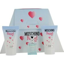 Moschino Funny! EDT .13 oz Mini & Body Gel .8 oz & Shower Gel .8 oz