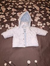 Bebe Pimmy Designer Puffy Toddler Coat w/ Removable Snap Hood - Made In Italy!