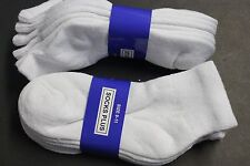 6PAIR Diabetic Men/WOMEN ANKLE Socks 9-11 WHITE Cotton(FOR DIABETICS CIRCULATION