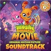 MOSHI MONSTERS THE MOVIE - ORIGINAL FILM SOUNDTRACK - CD NEW (FREE UK POST)