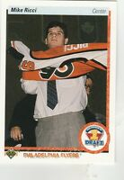 FREE SHIPPING-MINT-1990-91 (FLYERS) Upper Deck #355 Mike Ricci ROOKIE