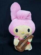 "My Melody Hawaii Pink Bunny Rabbit Hula Ukulele Girl Plush SanRio 6"" Hello Kitty"