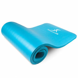 Extra Thick 1-Inch Yoga and Pilates Mat made from High Density Foam