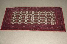 Fine Afghanistan Hand Knotted Rug Carpet Bukhara Turkmen Kuchi Antique Oriental