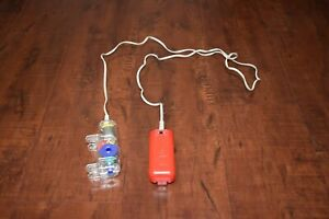 """KNEX MOTOR w/Extra Long 4 Ft Cord (48"""") Battery Powered Red Forward/Reverse Part"""